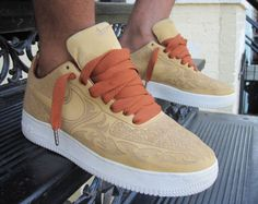 Nike Air Force 1 'Mark Smith Laser' #AF1