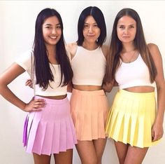 Want a pastel aa tennis skirt so badly