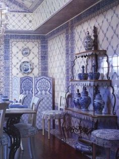 Porceleyne Fles Delft Tile Veere Cool In Summer And Warm In Winter Pottery & China