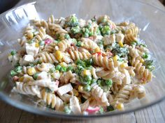 cremet pastasalat med kylling og bacon Food N, Good Food, Food And Drink, Healthy Cooking, Cooking Recipes, Healthy Recipes, Great Recipes, Dinner Recipes, Recipes From Heaven
