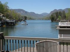 Lakefront Sunset View Lake Lure -- Pontoon... - VRBO