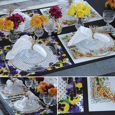 mesa primavera, decoração flores de papel, mesa 4 estações, mesa posta, tablescape inspiration, spring decor