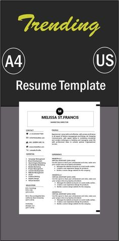 Visual Resume, Basic Resume, Professional Resume, Free Resume, Simple Resume Template, Cv Template, Resume Templates, Resume Tips No Experience, Resume Review