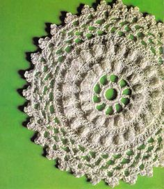 VINTAGE 1970s CROCHET PATTERN - Round Tablemats 3 Designs, Lacy Doilies, Retro/Shabby Chic, Instant Download Pdf from GrannyTakesATrip 0232