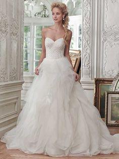 ballgown Maggie Sottero Wedding Dress