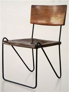 Pierre Jeanneret, Chair, 1950s. | Furniture Design | Chair Design | Designer Chair