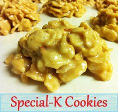 """""""No Bake"""" Special K Cookies.. Peanut Butter Dessert!"""