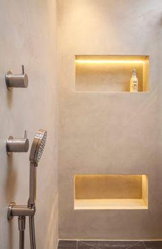 Mortex Badkamer | Naadloos Waterdicht Betonlook | Pinterest | Bathroom  Colors, Color Walls And Walls