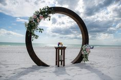#beachwedding #beachbride #weddingarch #beachceremony #weddingdecor Beach Ceremony, Ceremony Backdrop, Ceremony Decorations, Simple Wedding Menu, Simple Weddings, Beach Weddings, Backdrops, Arch, Gallery