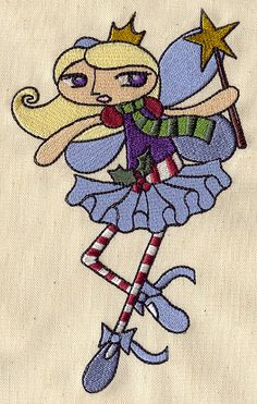 Sugar Plum Fairy | Urban Threads: Unique and Awesome Embroidery Designs