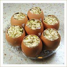 Świat Domowej Kuchni: Jajka Wielkanocne z mięsnej galarety Muffin, Appetizers, Pudding, Eggs, Breakfast, Desserts, Food, Cooking, Morning Coffee