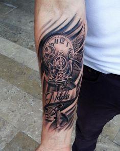 Zahnr 228 der schrift mehr coole tattoos 3d t 228 towierungen ink tattoos