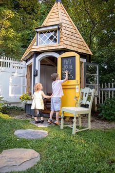 Outdoor play house for kids