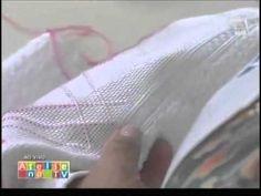 Ateliê na TV - Estilotex - Toalha com crivo -  Leila Jacob