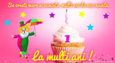 La multi ani 1 an Thing 1, 1 An, Birthday Candles, Christmas Ornaments, Wallpaper, Holiday Decor, Petra, Google Search, Places