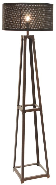 Furniture Online & Decorating Accessories | Industrie Metal Floor Lamp | Interiors Online Furniture $260.00