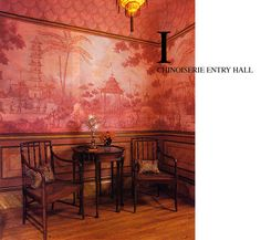 chinoiserie by MIchael Dute