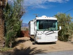 Rv camping Death Valley