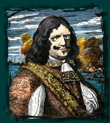 """Henry Morgan, a Welshman, was one of the most destructive pirate of the 17th century. Bold, ruthless daring man, He fought England's enemies for thirty years becoming a wealthy man, His famous exploit cames in 1670 when he led 1700 buccaneers through the Central American jungle to attackthe """"impregnable"""" city of Panama burnining the city to the ground the inhabitants were killed or forced to flee. At the height of his career,Morgan died in his bed, rich and respected"""