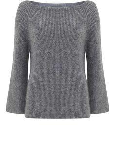 Granite Fluffy Knit