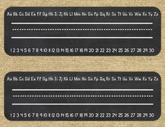 This product includes name tags (or name plates) you can use in your burlap and chalkboard themed classroom!   You will receive two styles of name plates - one with the alphabet and numbers 1-30, and one without.  Please note: the actual name plate itself cannot be edited, you can just add text.This product is in in PDF form (for easy printing) and also in PowerPoint - to write student names, just insert a text box.