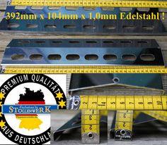 392mm Edelstahl Flammenverteiler Grillblech Gasgrill Flammenabdeckung BBQ bull
