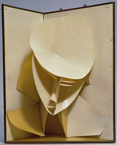 """Head of Woman"" (c. 1920), by Naum Gabo. Constructivism; MoMA."