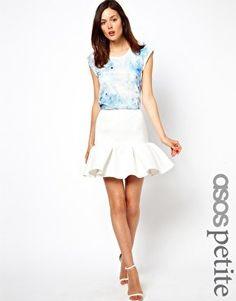 #asos                     #Skirt                    #ASOS #PETITE #Skirt #Ovoid #Texture #asos.com      ASOS PETITE Skirt In Ovoid Texture at asos.com                                http://www.seapai.com/product.aspx?PID=1356759