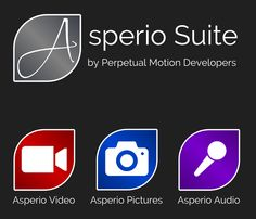 Asperio Suite beinhaltet Asperio Pictures, Asperio Video und Asperio Audio. Die Suite ist eine professionelle Serie von Tools für die kreative Arbeit mit dem Smartphone und wird neue Android Lollipop Features unterstützen.