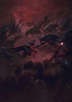 Guillem H. Pongiluppi is a Spanish artist who has worked on stuff like the Warcraft movie.