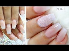 Hi guys! Thank you for watching my video, I hope you find it helpful since it was a highly requested video. ****PRODUCTS USED: I used a fine carbide bit to r. Acrylic Nails At Home, Gel Top Coat, Shellac Nails, Stone Work, Easy Nail Art, Natural Nails, Relleno, Summer Nails, Nail Designs