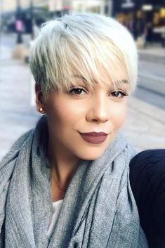 Most Stylish Short Hair Styles with Bangs