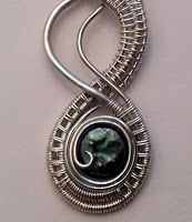 Perfectly Twisted Handmade Wire Wrapped Beaded and Gemstone Jewelry: Learning to Weave Wire - A Twisted Serpent