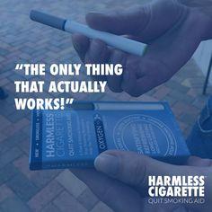 #HarmlessCigarette #QuitSmoking