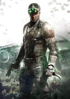 Tom Clancy's Splinter Cell: Blacklist artwork: Sam Fisher