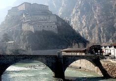 Forte di Bard _ Valle d'Aosta, aosta region, Italy