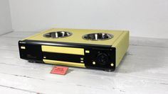 Upcycled VCR Pet Feeder  $62