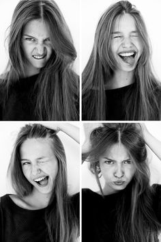 The many faces of Kristina #3    Kristina Romanova was shot by Billy Kidd.