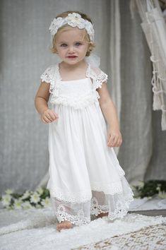 Baby Chloe dress with bloomers | Tea Princess