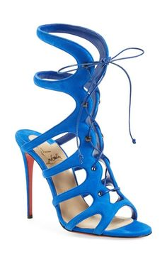 Christian Louboutin 'Amazoulo' Gladiator Sandal available at #Nordstrom