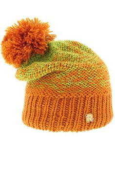 Balerina, Knitted Hats, Orange, Knitting, Diana, Life, Knit Hats, Tricot, Knit Caps