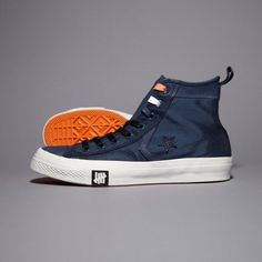 CONVERSE Undefeated + Converse Ballistic Star Player High Navy