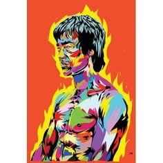 Canvas Artwork, Canvas Art Prints, Canvas Wall Art, Odell Beckham Jr Wallpapers, Bruce Lee Poster, Dragon Movies, Enter The Dragon, Pop Art Portraits, Graphic Art