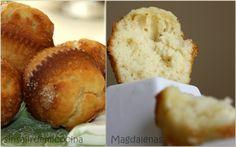 SIN SALIR DE MI COCINA: MAGDALENAS DE LIMON Y CANELA DE BARRIGA