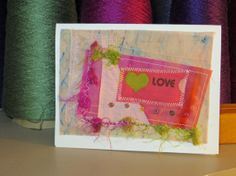 Quilted Note Cards by tokeepewewarm on Etsy, $4.00