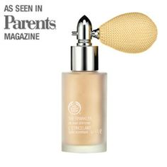 The Body Shop: Sparkler (Gold) Shimmer Spray