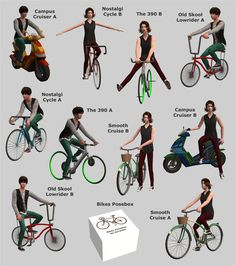 Hi. Here is second request, this time by 2fingerswhiskey and justsimaround - TS3 BG bikes, TS3 UL pre-order scooter and TS3 Store Pushin' Pedals set. DOWNLOAD Bikes & Racks And for those who like to take interesting screenshots, I made a posebox which contains 10 poses for adult sims. DOWNLOAD…