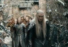 The  Guards are stunned as Thranduil orders a withdrawal.