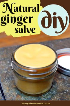 Ginger salve recipe with ginger essential oil. How to make a DIY ginger salve for sore muscle pain r Natural Health Remedies, Herbal Remedies, Ginger Essential Oil, Essential Oils, Salve Recipes, Natural Pain Relief, Sore Muscles, Fibromyalgia Pain, Herbalism