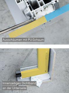 Detail & Material ÖNORM-Fenstermontage B5320